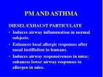 pm and asthma