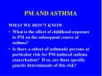 pm and asthma24