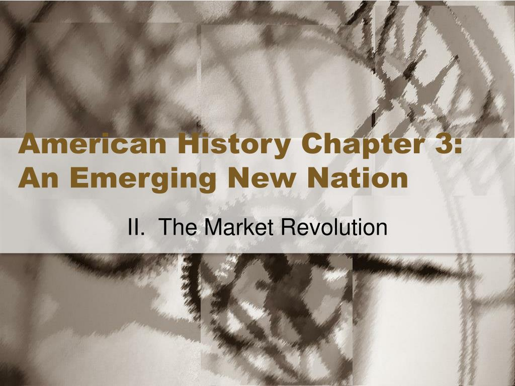 american history chapter 3