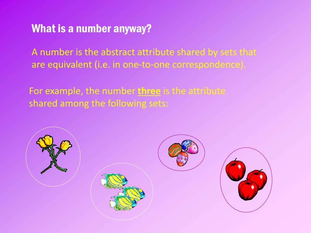 What is a number anyway?