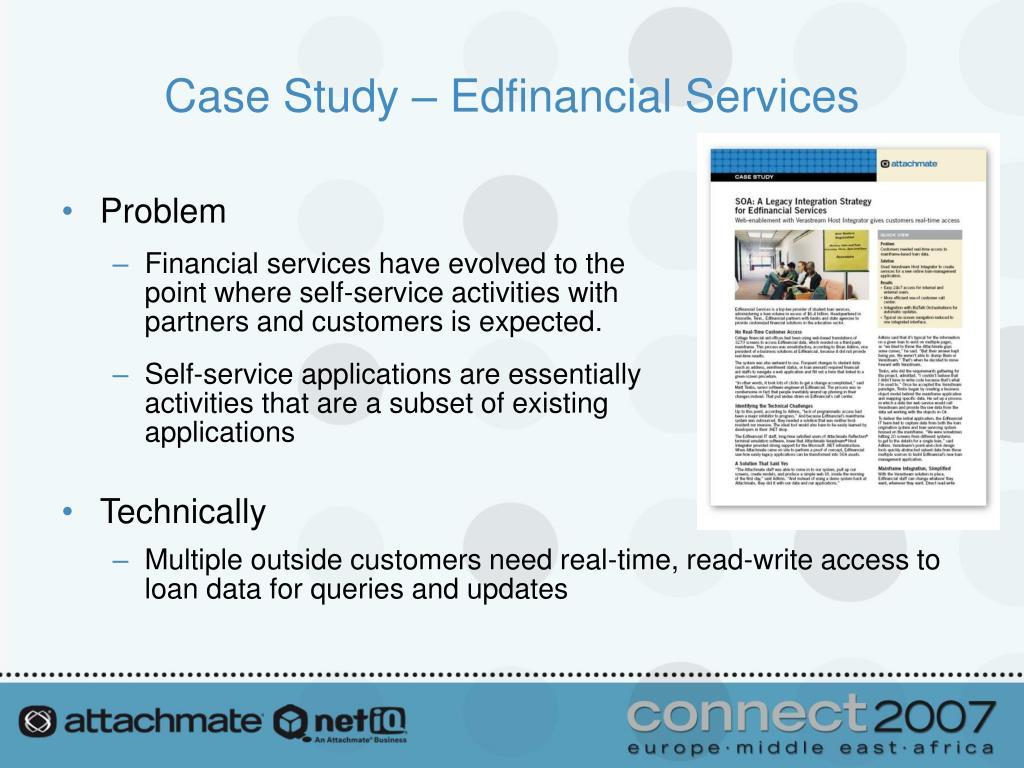Case Study – Edfinancial Services