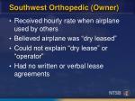 southwest orthopedic owner