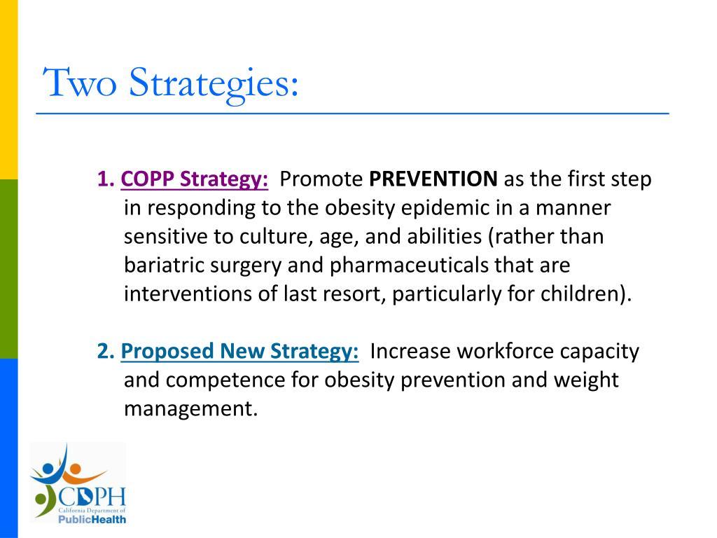 Two Strategies: