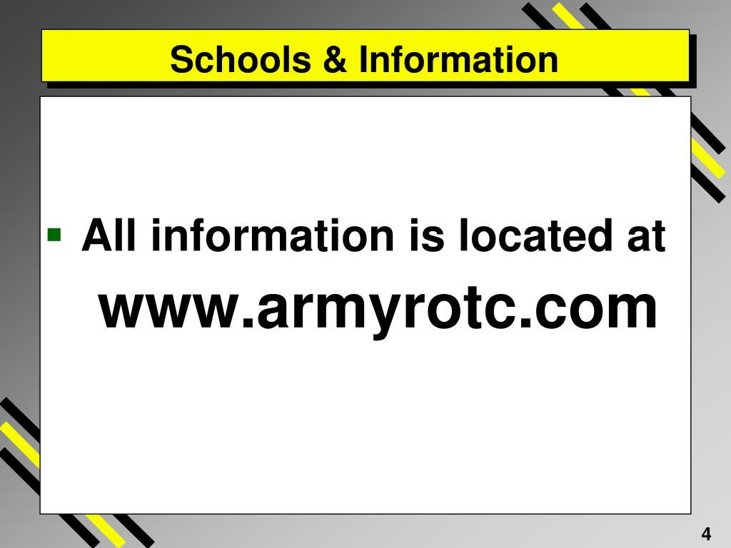 Schools & Information