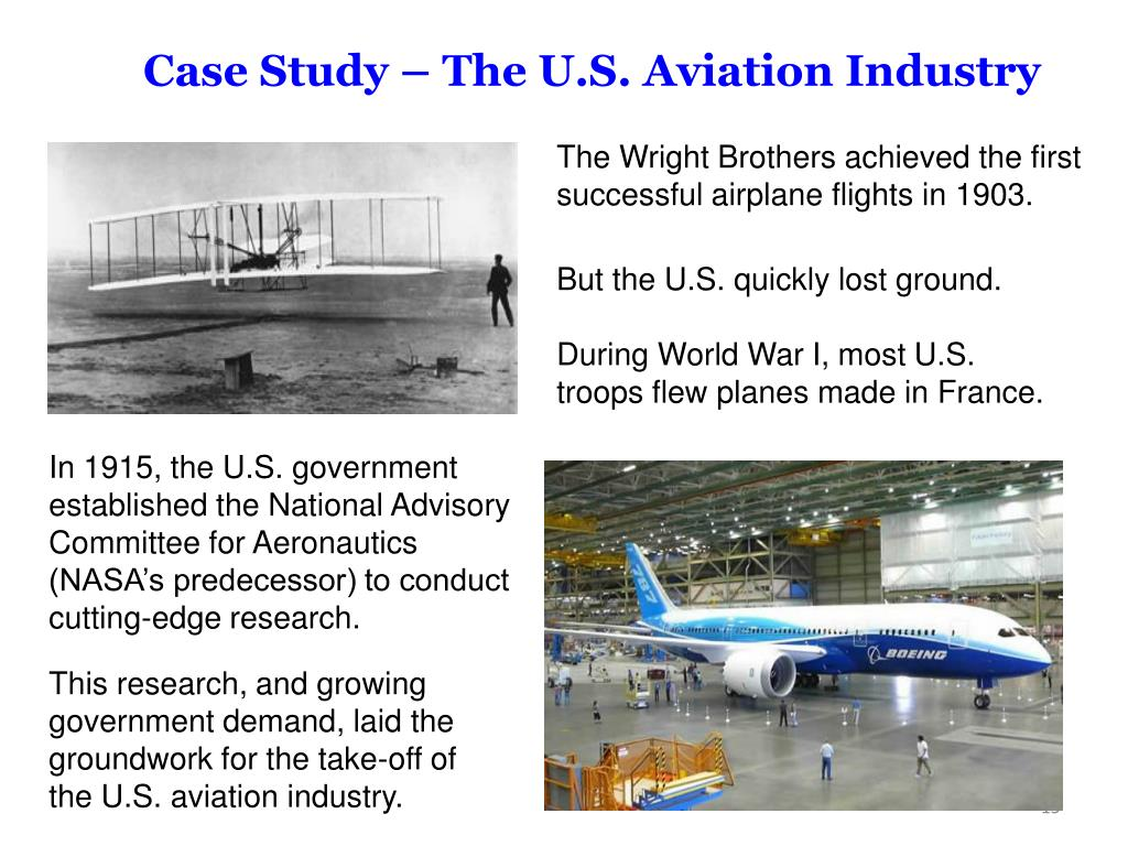 Case Study – The U.S. Aviation Industry