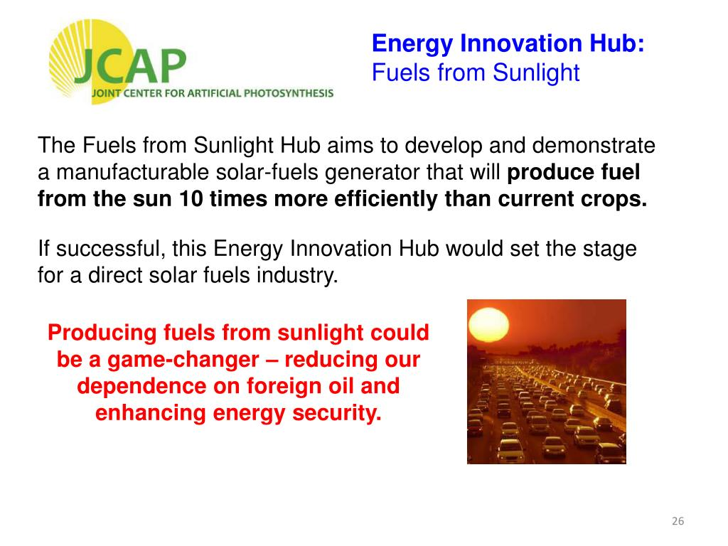 Energy Innovation Hub: