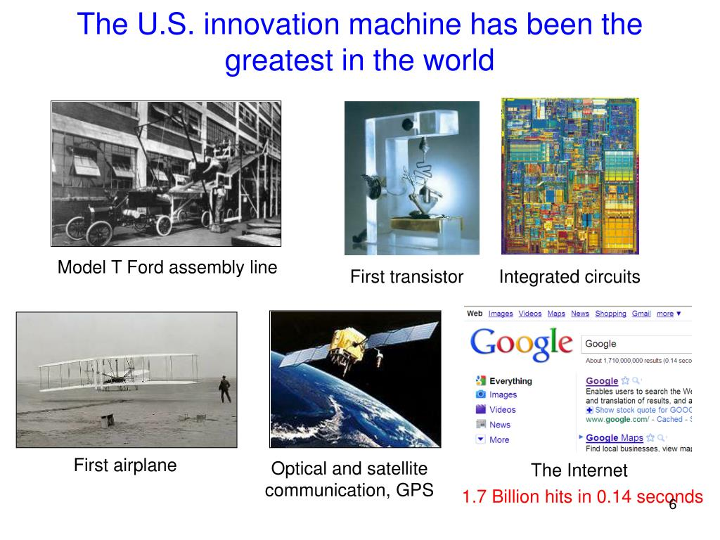 The U.S. innovation machine has been the