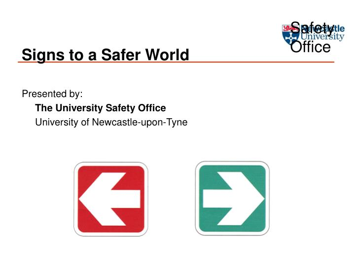signs to a safer world n.