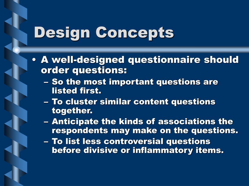 Design Concepts