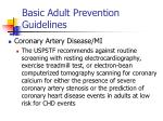 basic adult prevention guidelines21
