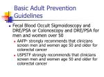 basic adult prevention guidelines40