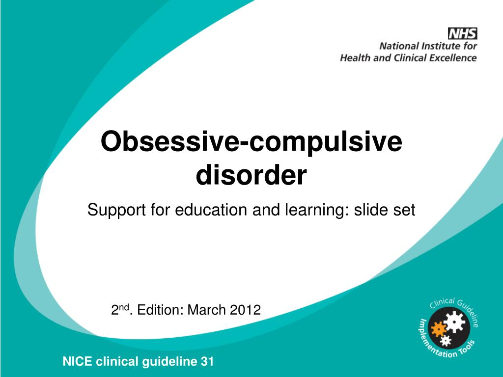 the features of obsessive compulsive disorder