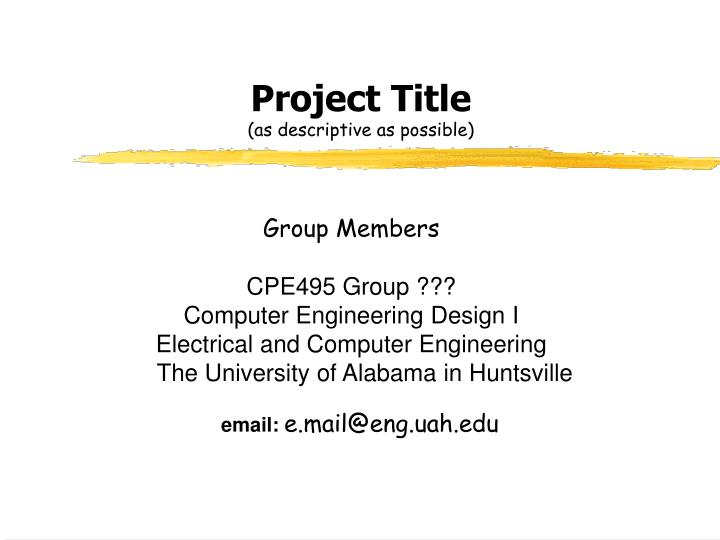 project title Making a title page tip sheet 20 title of your project title of the class period of your section the teacher's name what should the title page look like.