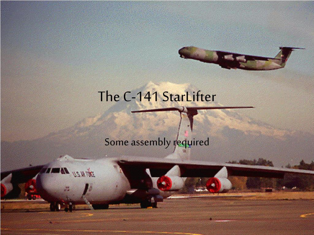 the c 141 starlifter l.
