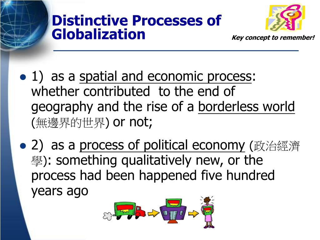 bordeless world globalization