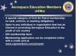 aerospace education members aems