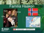 familia haakon