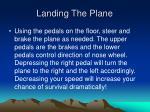 landing the plane22