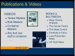 publications videos