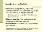 introduction to stability34