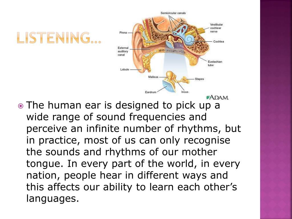 Listening…