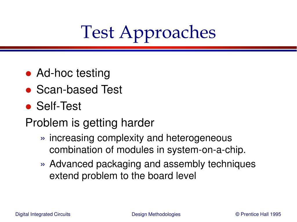 methodological approaches test