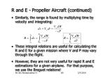 r and e propeller aircraft continued7