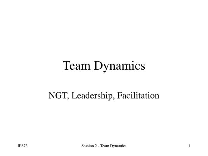 dynamics of team communication essay • open communication and positive feedback - actively listening to the concerns and needs of team members and valuing their contribution and expressing this helps to create an effective work environment.