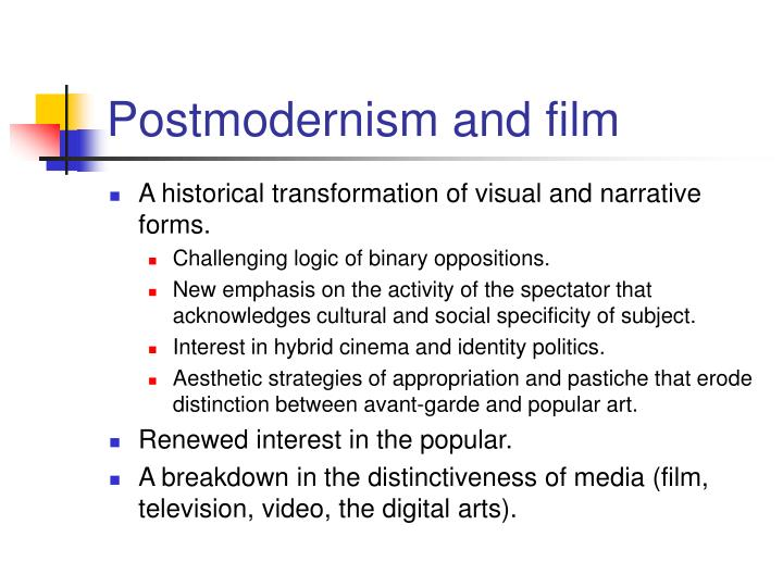 postmodernism and politics essay The unfortunate fallout of campus postmodernism in a 1946 essay in the london this is a shift in marxist theory from class conflict to identity politics.