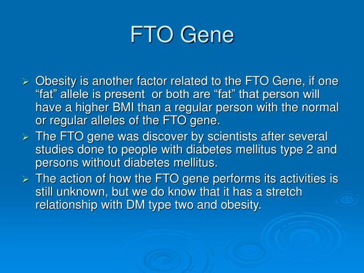 FTO Gene
