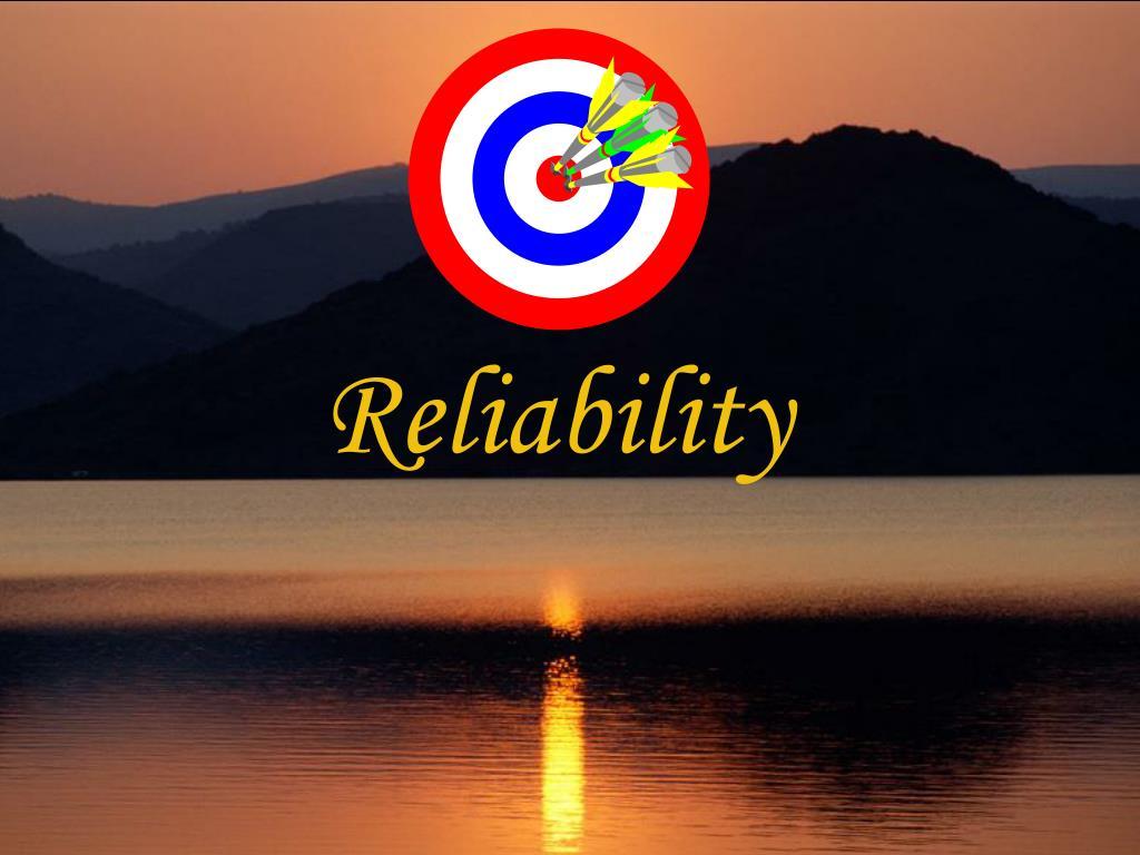 reliability l.