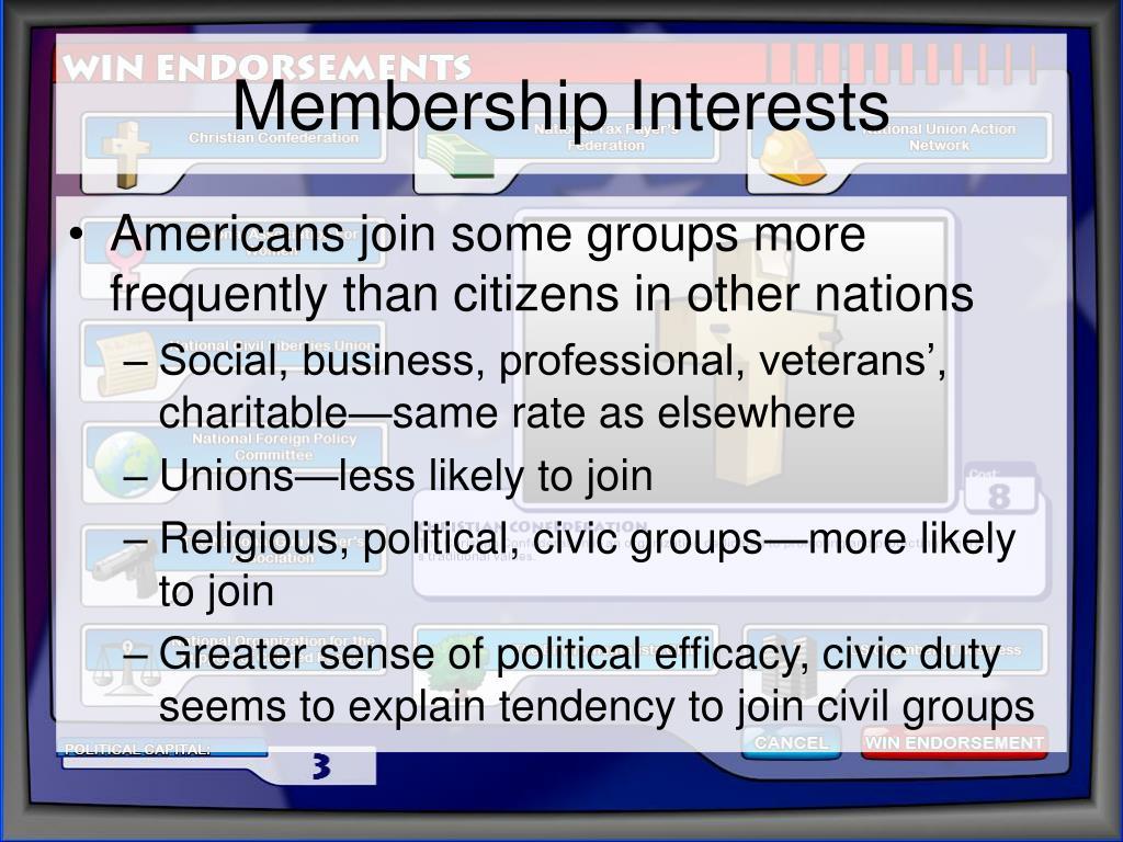 Membership Interests