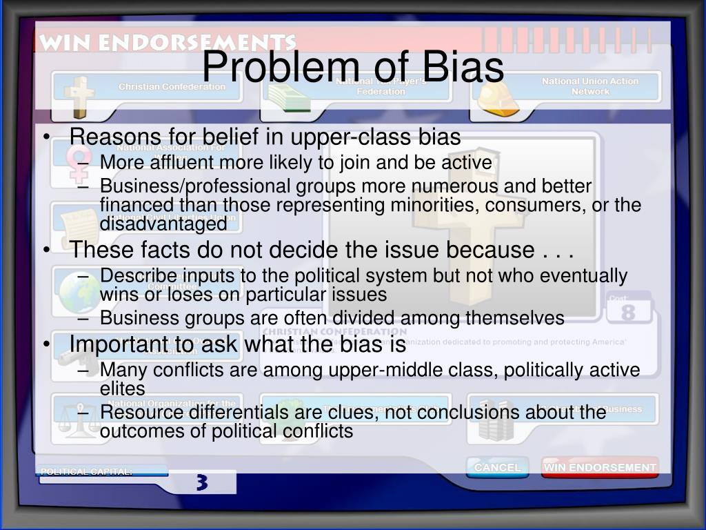 Problem of Bias