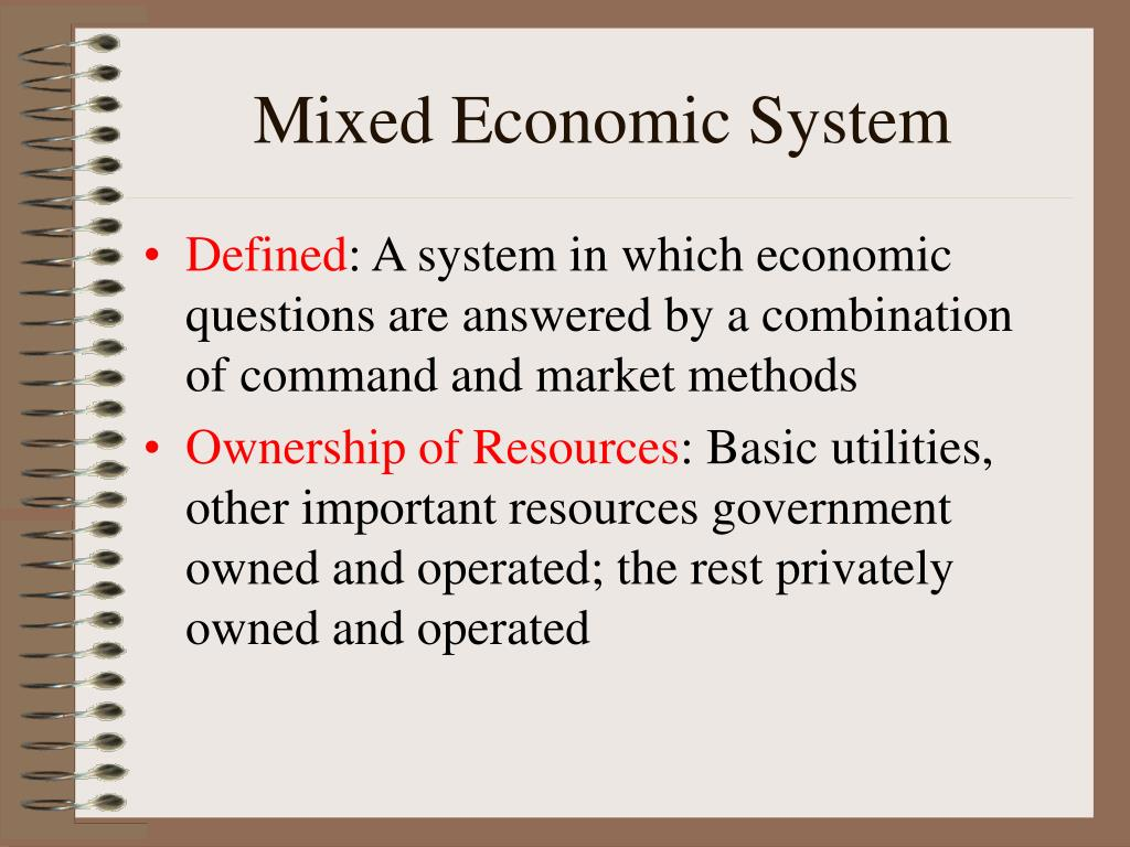 PPT - Economic Systems PowerPoint Presentation - ID:465064