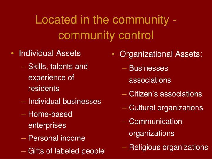 Individual Assets