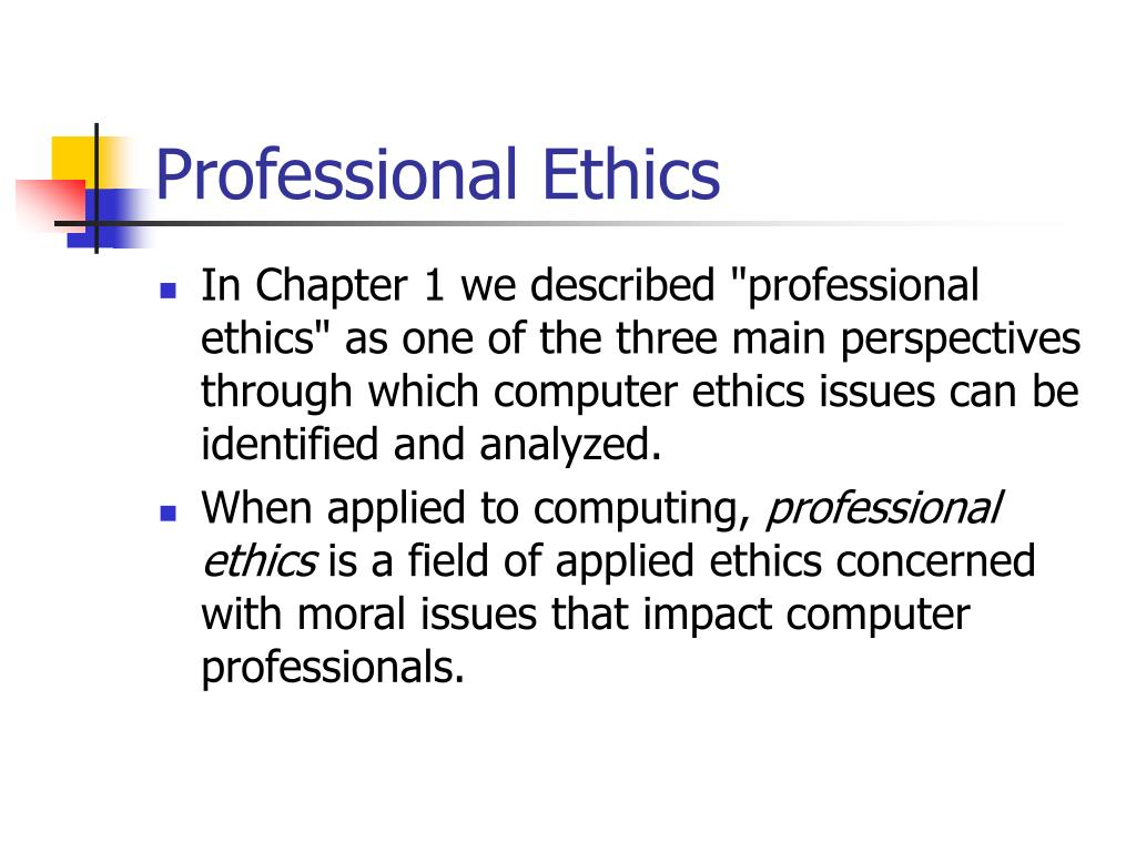 strengths and weaknesses code of ethics The code reflects professional ethics of obligations to society, obligations to employer, obligations to clients and obligations to colleagues and organizations as a result, it is important that persons be educated about ethics starting at school and continuing in the workplace.