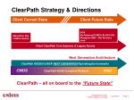 clearpath strategy directions