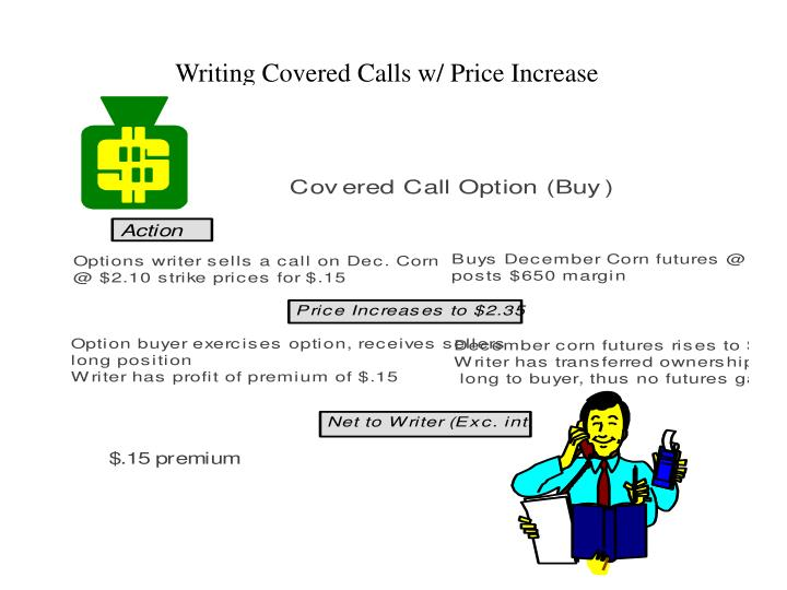 Writing Covered Calls w/ Price Increase