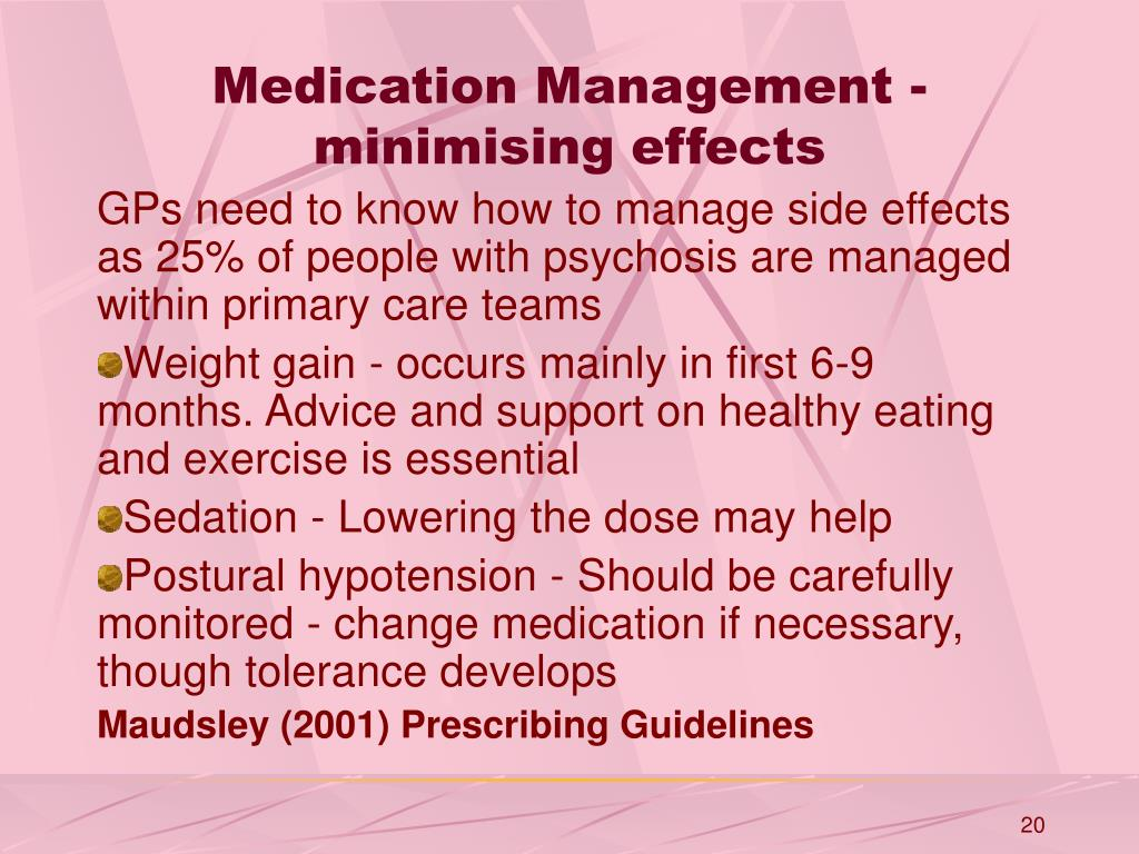Ppt Medication In Early Onset Psychosis Powerpoint