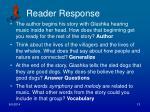 reader response1
