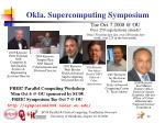 okla supercomputing symposium1