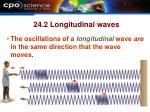 24 2 longitudinal waves