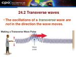24 2 transverse waves