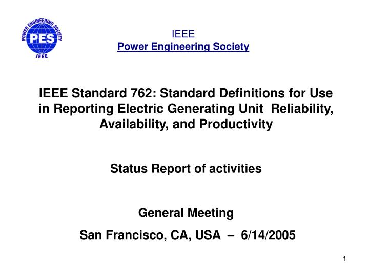 Ppt ieee standard 762 standard definitions for use in for Ieee definition