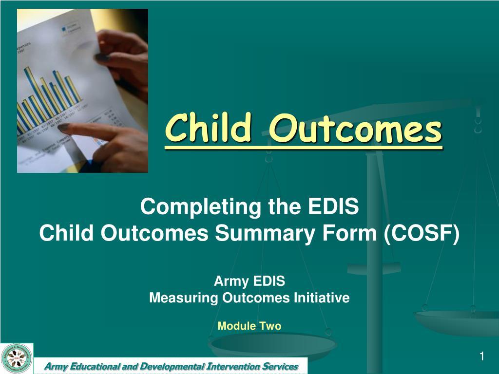 child outcomes l.