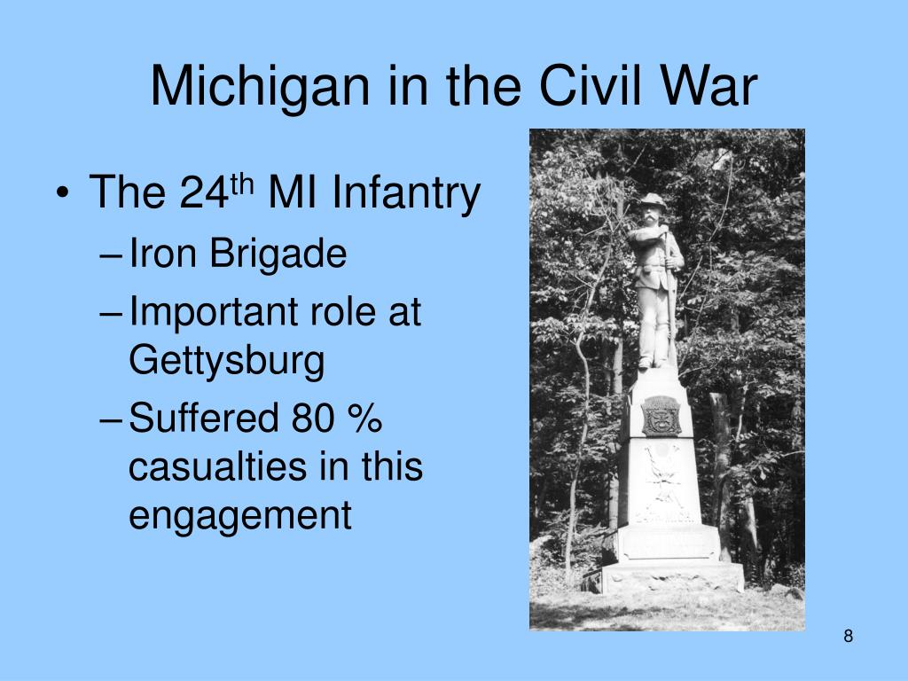 """Thank God for Michigan!"" The Wolverine State in the Civil War - PowerPoint PPT Presentation"