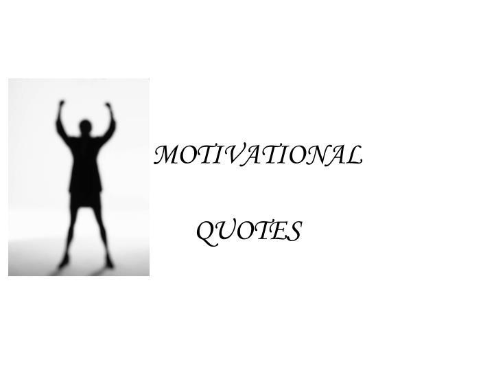 motivational n.