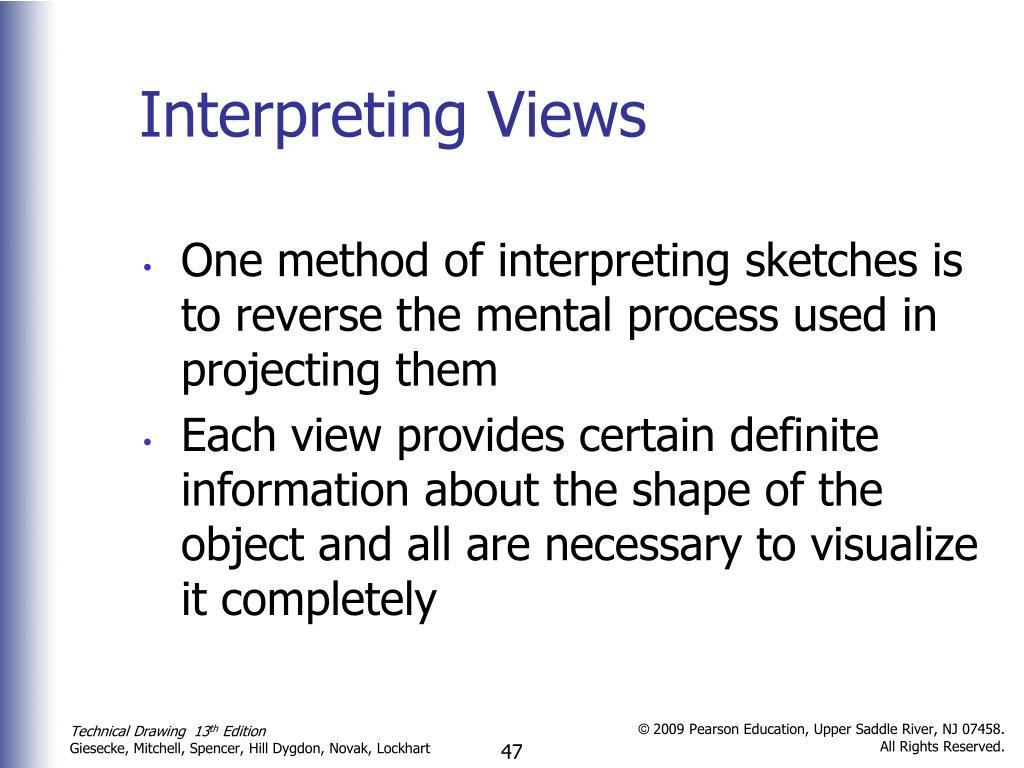 Interpreting Views