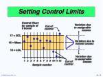 setting control limits1
