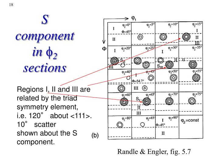 S component in